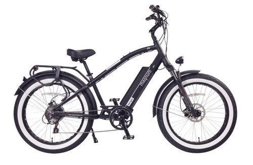 Magnum Electric | Ranger | Electric Beach Cruiser | Black