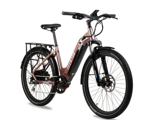 Aventon Electric | Level Step Thru | Rose Gold