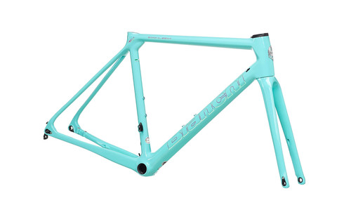 Bianchi | Specialissima Frame Kit | Disc | Celeste/Mermaid Scale | 2021