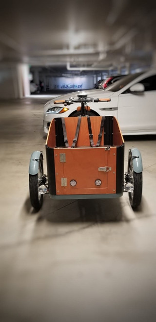Virtue Electric | Pedalbox+ Cargo Box Bike | Grey