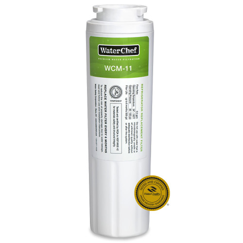 WaterChef WCM-11 premium refrigerator water filter cartridge for Maytag UKF8001, Filter 4, UKF8001AXX