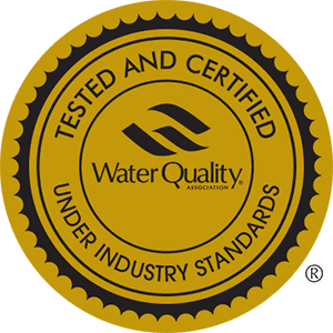 WQA Gold Seal certified shower filter systems