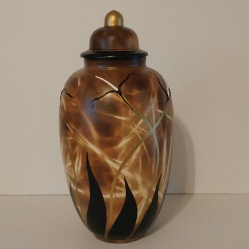 """Fields of Glory"" A Unique Handmade Artisan Urn"