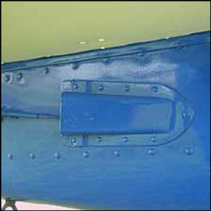 Cessna Rudder Cable Fairing