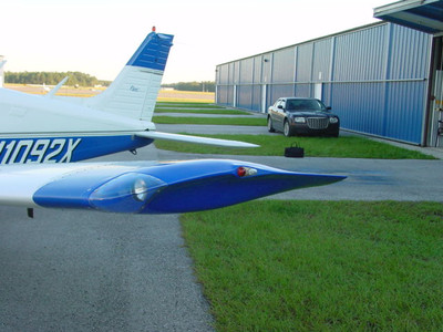 Piper Pa 28 Wing Tips With Landing Lights By Knots 2u