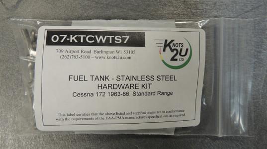 Wing Tank Screw Kit Fits Cessna 172 (1963-1986) (one tank, standard range)