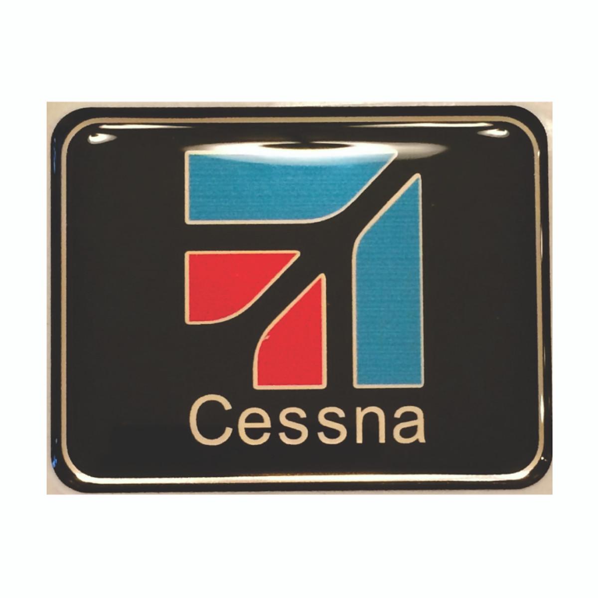 Cessna seatbelt emblem