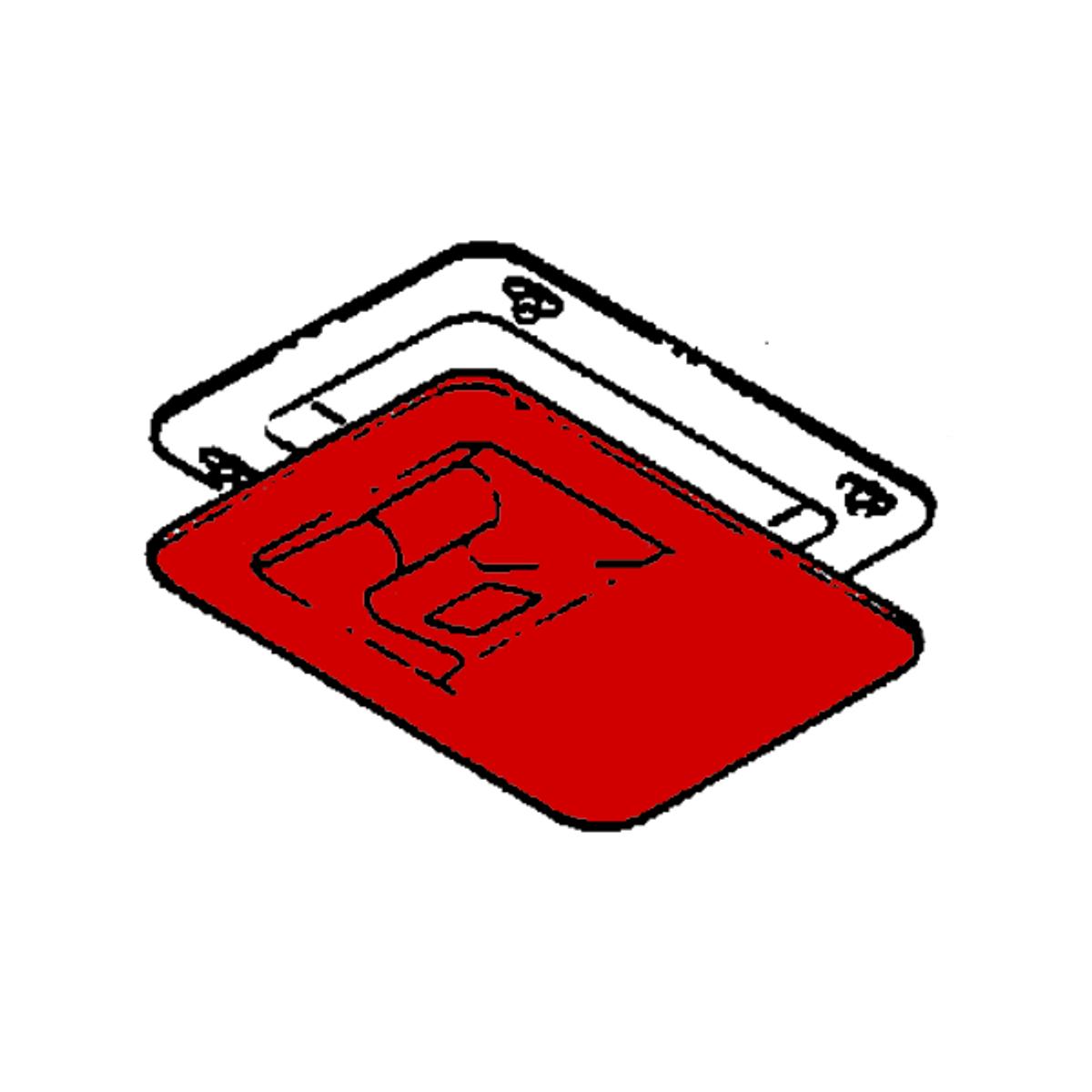 Door Assembly - Oxygen , Beechcraft 1900, 1900C, Part  114-530057-5