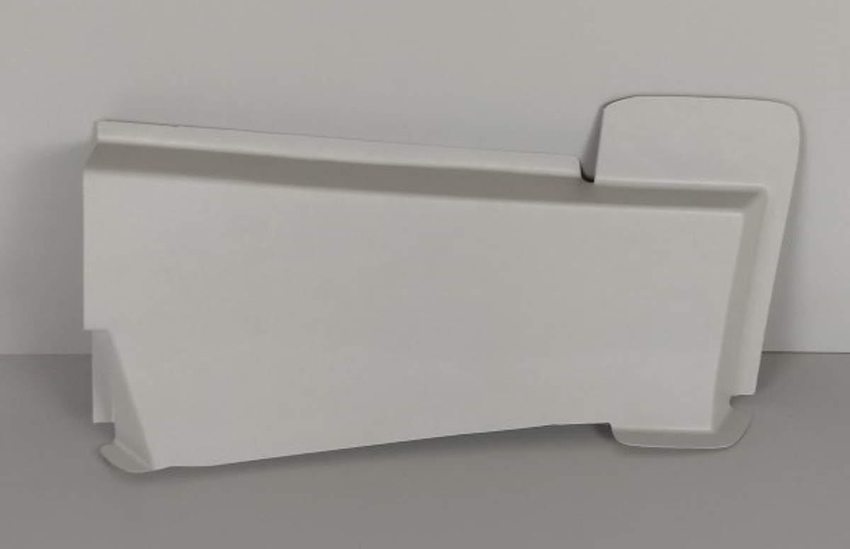 Cover Panel Fwd Lower Sidewall, Beechcraft 1900 , Replaces Part  129-530072-5