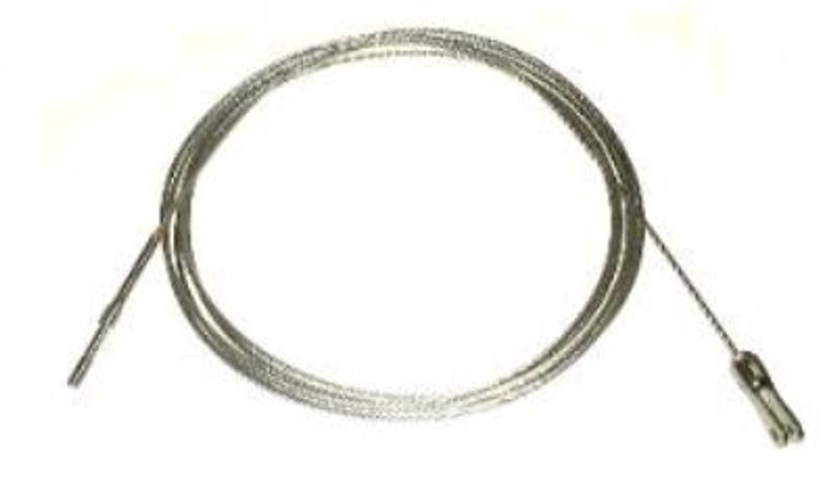 CABLE, Aileron, Wing, LH and RH.  Piper 62701-143