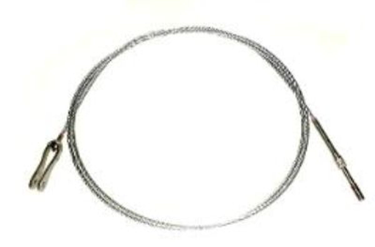 CABLE, Stabilator, Aft LH .  Piper 62701-208