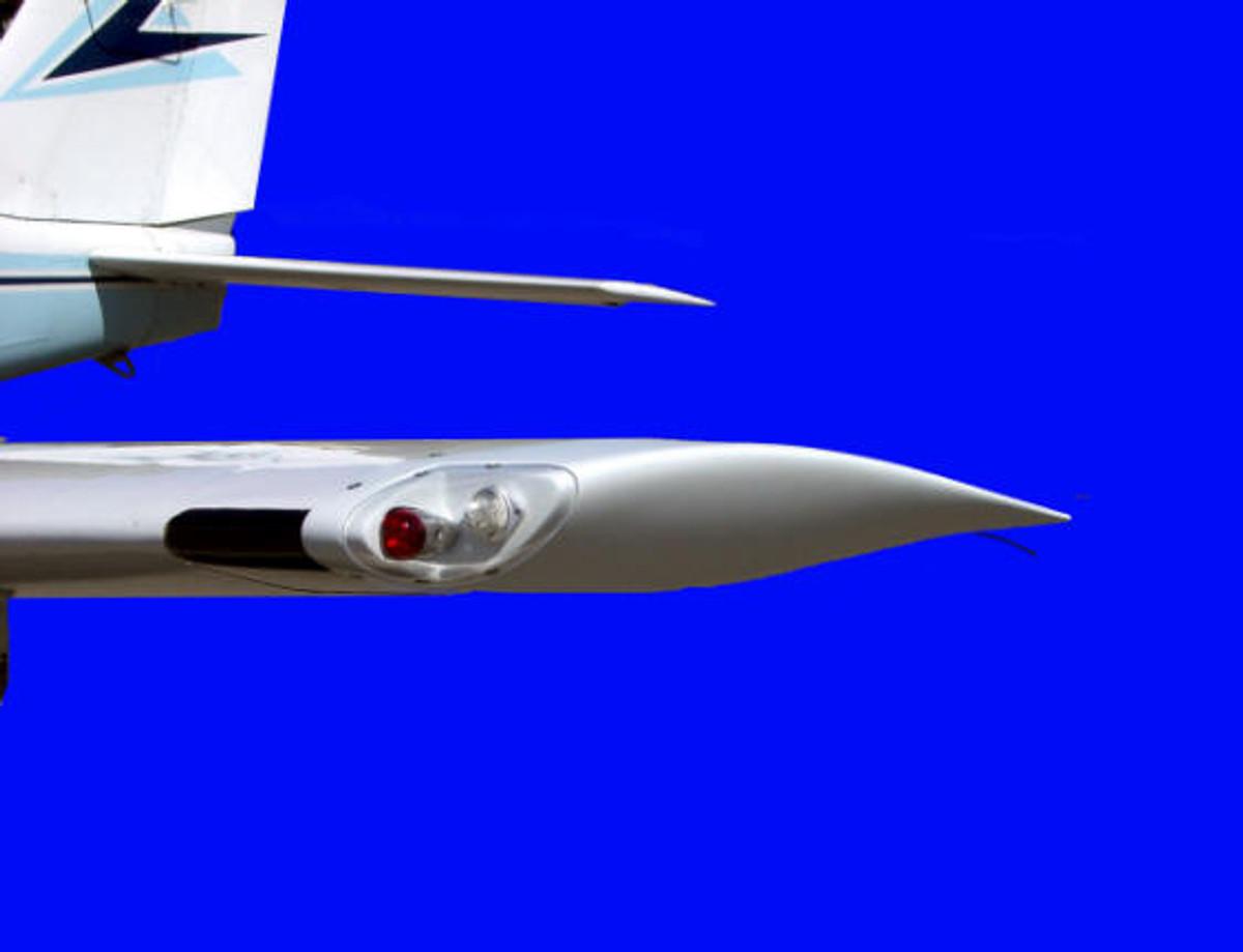 Piper Comanche Wing Tips. PA-24, PA-30, PA-39