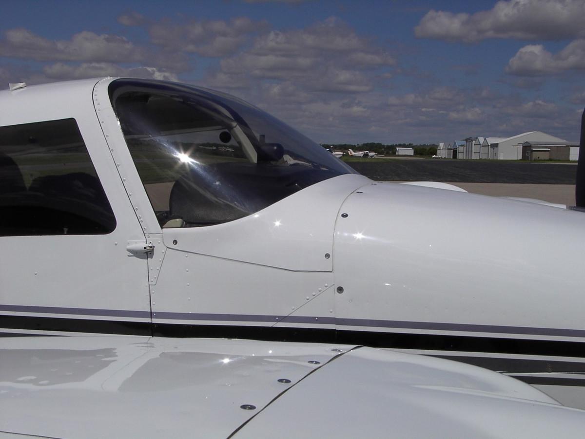 Piper PA-30 & PA-39 One Piece Windshield by Knots 2U.