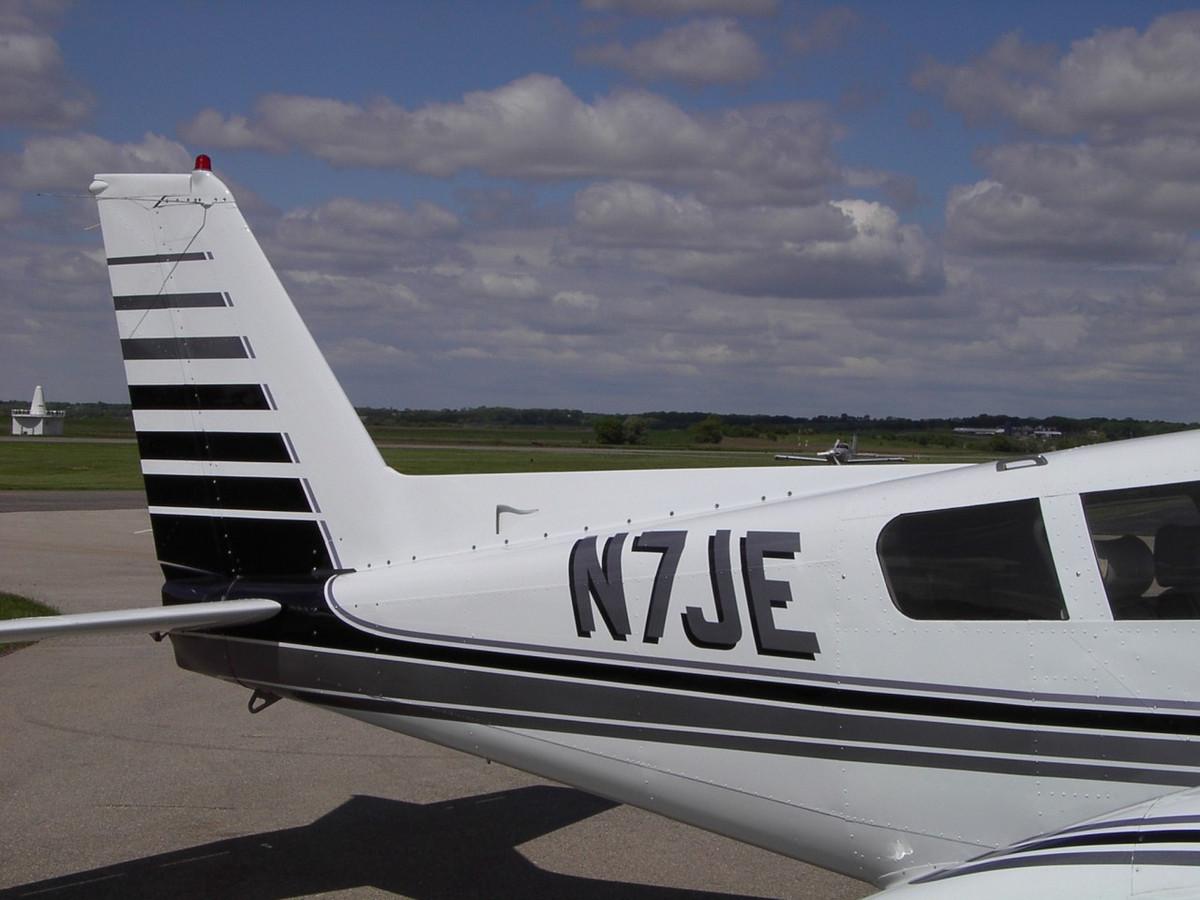 Comanche Dorsal Fin. Pa-24, PA-30, PA-39