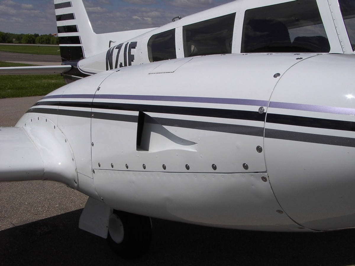 Piper Twin Comanche PA-30, PA-39 Naca Cowl Induction System