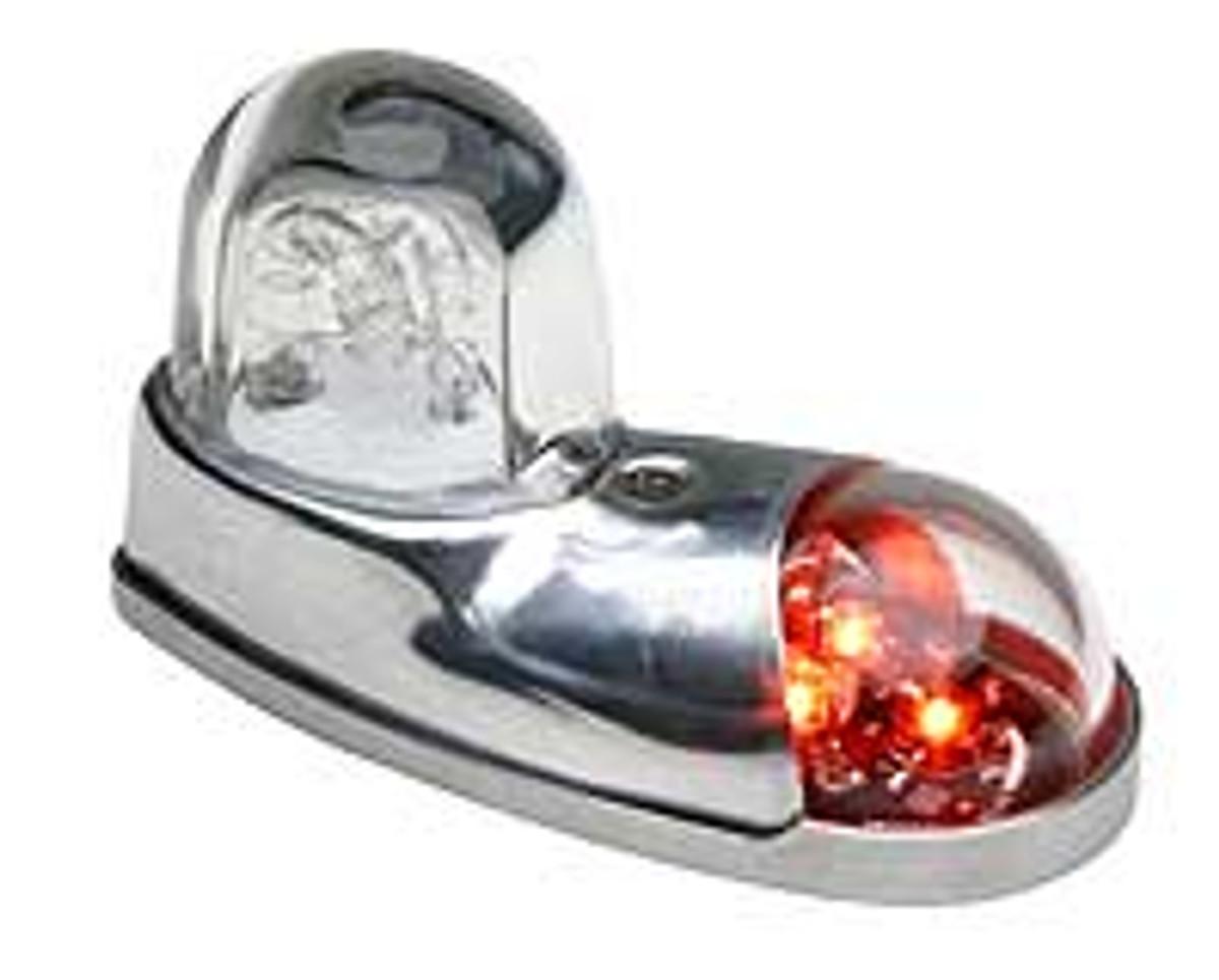 Whelen 7111004 LED Nav/Strobe Red 28V