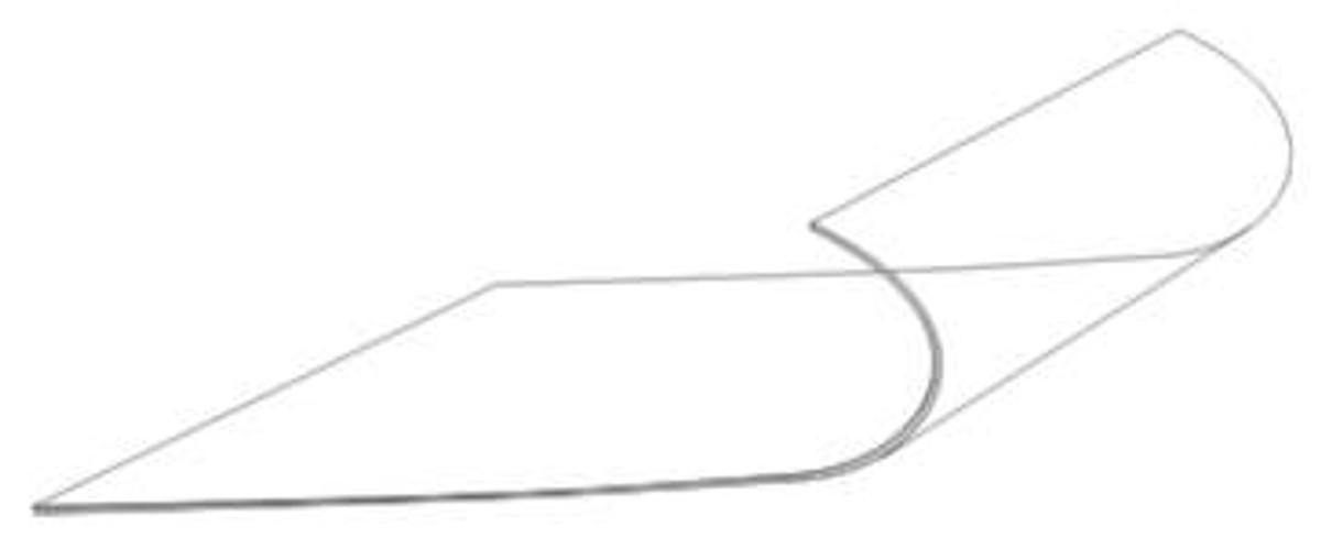 Wing Mount Landing Light Lens. Beechcraft 19, 23, 24 and 76 Models. Beech part 169-110000-237 & 169-110000-247. GLA2359.