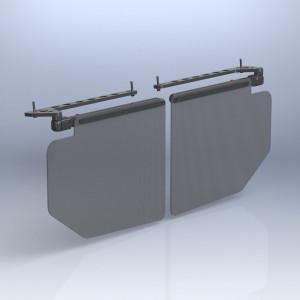 Rosen Deluse Visor Kit 210 Pressurized models.