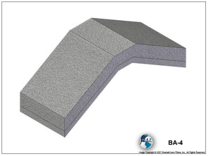 Brackett BA-4 Air Filter Element