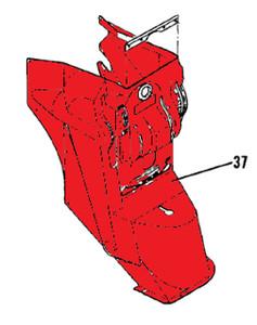 Cover Pedestal. Cessna 210B, Replaces 1213474-2, 1213474-2-418