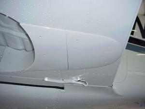 Piper PA-30 & PA-39 Twin Comanche Gear Lobe Fairings. Speed mods by Knots 2U.