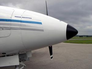 Piper Twin Comanche Radar Nose Kit PA-30 / PA-39