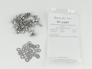 1650 Pcs Piper PA-34 Stainless Steel Hardware Kit.