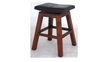 SWIVEL TOP LEATHER BAR STOOL (BR 001 SV LH) - SEAT: 760(H) - MAHOGANY OR CHOCOLATE