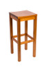 ROME BAR STOOL WITH TIMBER SEAT (ROM B 200 S) - SEAT: 830(H) - ANTIQUE OAK