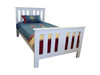 KING SINGLE FEDERATION BED - PRICED IN ASSORTED COLOURS (VIC ASH AND PINE OPTIONS ALSO AVAILABLE - PRICE ON APPLICATION) - CUSTOMISATION AVAILABLE