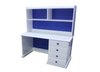 FEDERATION DESK & HUTCH WITH STANDARD WOODEN KNOBS (NOT AS PICTURED) - 1200(W) X 600(D) -  PRICED IN ASSORTED COLOURS (VIC ASH AND PINE OPTIONS ALSO AVAILABLE - PRICE ON APPLICATION) - CUSTOMISATION AVAILABLE
