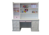 PRINCESS KIDS DESK & HUTCH  WITH STANDARD WOODEN KNOBS (NOT AS PICTURED) -  1400(W) X 600(D) - PRICED IN ASSORTED COLOURS (VIC ASH AND PINE OPTIONS ALSO AVAILABLE - PRICE ON APPLICATION) - CUSTOMISATION AVAILABLE