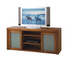 CARRIE (SQ1650) 2 DOOR LOWLINE TV UNIT WITH TRANSLUCENT SAFETY GLASS - 1650(W) - TASSIE OAK - ASSORTED COLOURS AVAILABLE