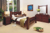 RUSTIC QUEEN 5 PIECE BEDROOM SUITE - RUSTIC
