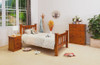 CARRIE KING SINGLE 3 PIECE BEDROOM SUITE (002ML) - IMPORT COLOUR (AL1)