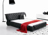 DOUBLE RANAVALONA LEATHERETTE BED (3026) - ASSORTED COLORS