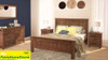 RADIUS (AUSSIE MADE) KING 4 PIECE (TALLBOY) BEDROOM SUITE - ASSORTED COLOURS