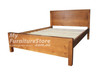 DOUBLE CELINE BED - WHITE OR ANTIQUE WHITE (NOT AS PICTURED)