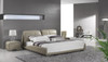 AVERSA KING 3 PIECE BEDSIDE BEDROOM SUITE (WITH #120 BEDSIDES) - LEATHERETTE - ASSORTED COLOURS