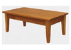 ALEX COFFEE TABLE -  1200(W) X 650(D) -BLACKWOOD (1002) OR WALNUT (1192)
