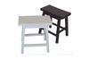 SADDLE STOOL - SEAT: 650(H) - WHITE, TEAK, DARK WALNUT, BUFF/TEAK OR WHITE TEAK