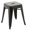 TOLIX RETRO CAFE KITCHEN BAR STOOLS (SET OF 4) - SEAT: 450(H) - BLACK