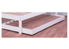 KING SINGLE CARINGBAH TRUNDLE ONLY (MODEL 2-21-4-7-5-20) - ARCTIC WHITE