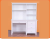 KADO DESK AND HUTCH -1060(W) X 530(D) -  ARCTIC WHITE OR WALNUT