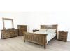 HERITAGE DOUBLE OR QUEEN 6  PIECE -THE LOT BEDROOM SUITE - GREY WASH(#501)