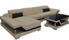 MACIN (G8004C) CHAISE  LOUNGE SUITE  - CHOICE OF LEATHER AND ASSORTED COLOURS AVAILABLE