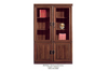 WINDSOR (BG904C) 2 DOOR DISPLAY / BOOKCASE  - 2000(H) X 900(W) - CHERRY