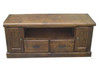 CALISTA (COBTV-5)  2 DOOR 2 DRAWERS TV ENTERTAINMENT UNIT -  580(H) X 1770(W) - ROUGH SAWED
