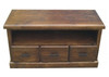 CALISTA (COBTV-2) 3 DRAWERS TV UNIT - 580(H) x 1520(W) - ROUGH SAWED