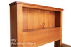 SINGLE DELUXE BOOKEND BEDHEAD ONLY - 1200(H) - ASSORTED COLOURS